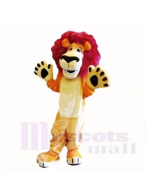 Amical Poids léger Animal Lion Costumes De Mascotte Dessin animé