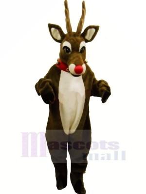 Rudolph Renne Mascotte Les costumes Dessin animé