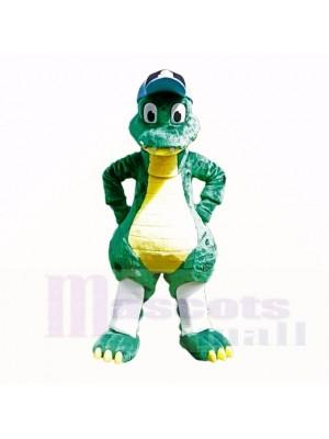 Dinosaure de qualité supérieure avec la cape bleue costumes de bande dessinée