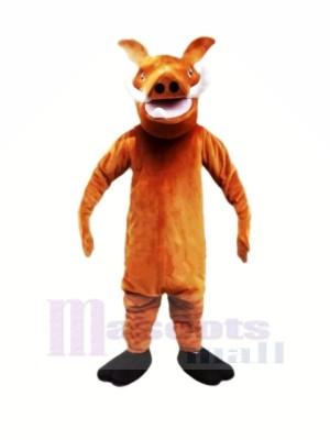 Pumbaa Sauvage Sanglier Mascotte Les costumes Dessin animé