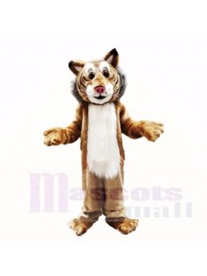 Amical Poids léger Lynx Costumes De Mascotte Adulte