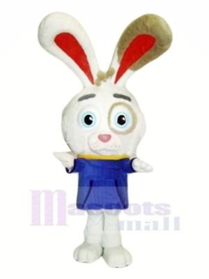 Charmant peu lapin Mascotte Les costumes Dessin animé