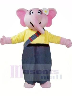 Fille l'éléphant Mascotte Les costumes Pas cher