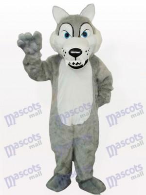 Costume drôle de mascotte de loup de bois de vache