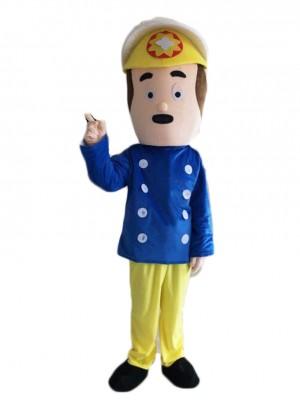 Pompier Sam Regardez Mascotte Costume