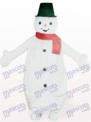 Costume de mascotte de Noël de Noël Blackman Snowman Animal