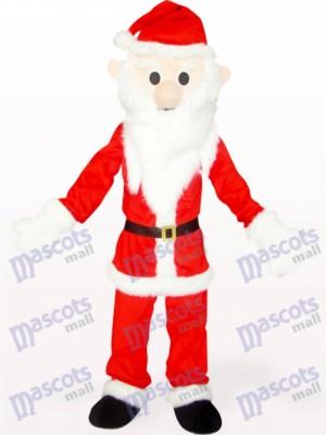 Costume de mascotte de Noël Noël rouge et blanc
