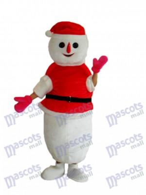 Noël Bonhomme de neige Mascotte Costume adulte Xmas