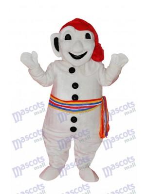 Bonhomme de neige Mascotte Costume Noël Xmas