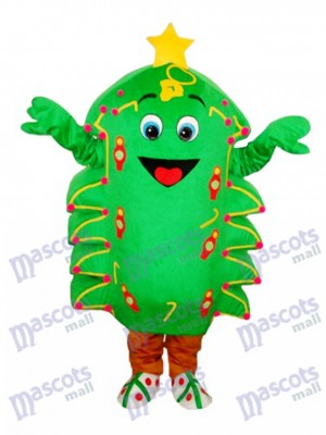 Noël Arbre Mascotte Adulte Costume de Noël