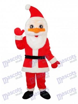 Santa Claus Mascot Adult Costume