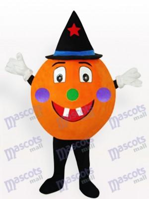 Orange citrouille Costume de mascotte adulte Anime