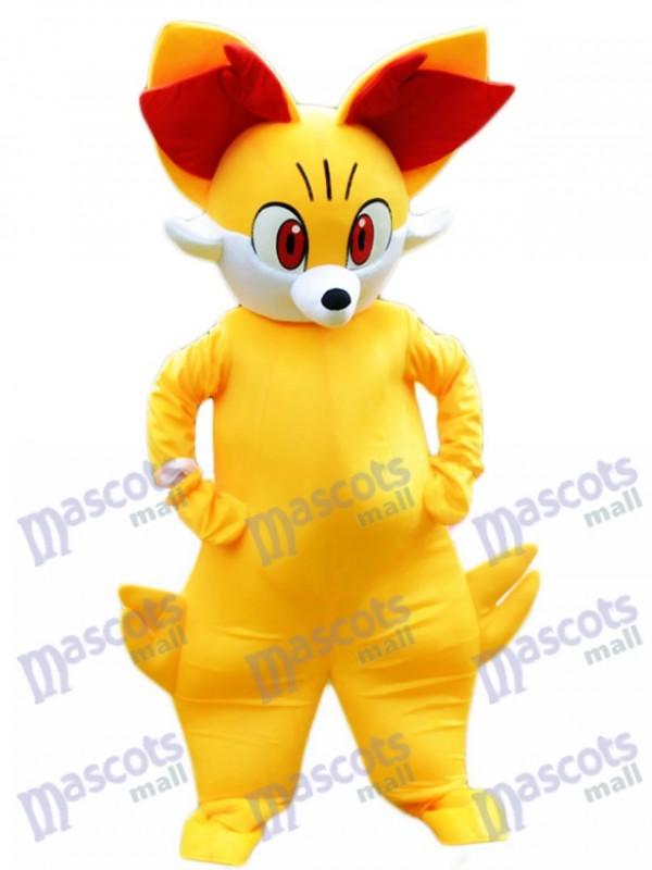 Monstre de poche en peau de feu Fenné Pokémon Pokémon Costume de mascotte