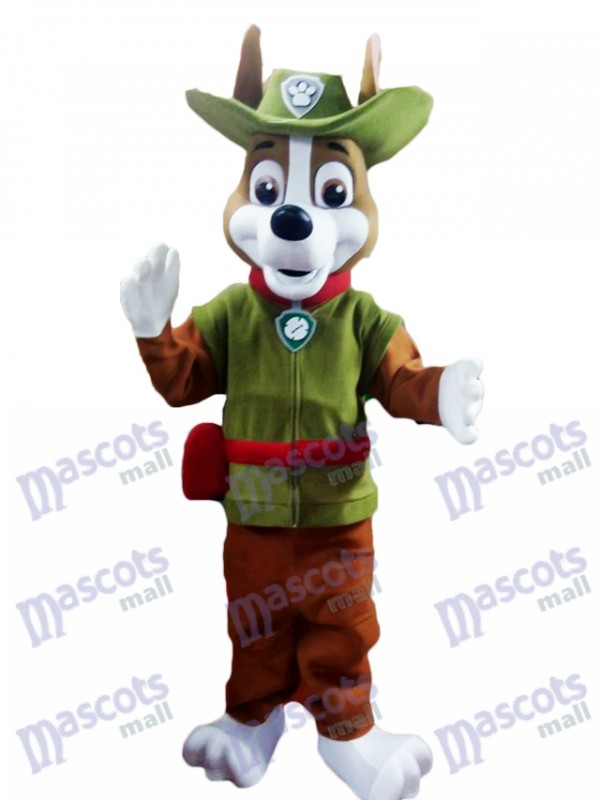 La Pat' Patrouill PAW Patrol Tracker Costume Canine Chihuahua Mascotte