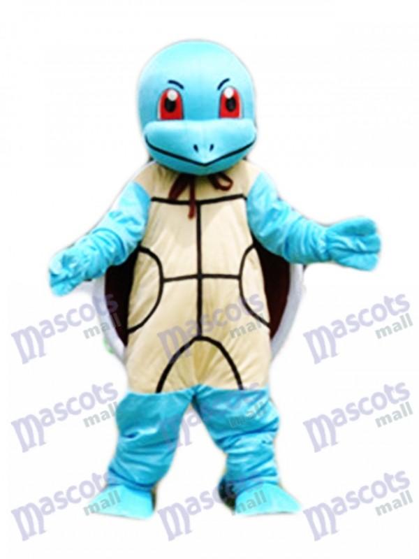 Squirtle Zenigame Pokémon Bleu Clair Tortue Pokémon Costume Mascotte