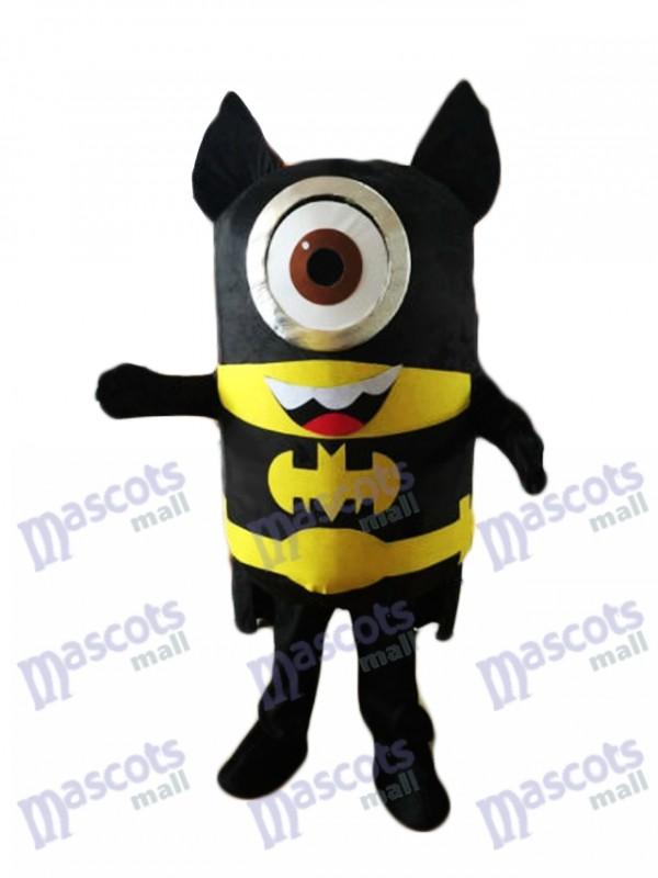 Moi, moche et méchant Despicable Me Minion Batman Minions Homme chauve-souris tume de mascotte