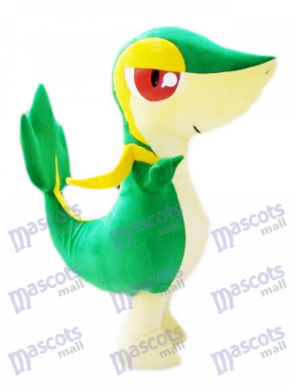 Snivy tsutarja serpent peluche Pokémon Go Costume de mascotte
