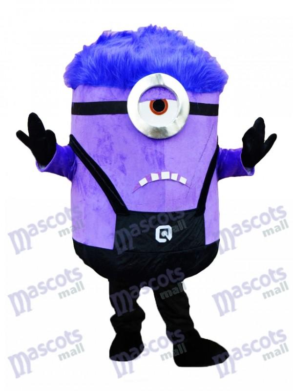 Moi, moche et méchant MINIONS Despicable Me Costume de mascotte des Minions pourpres
