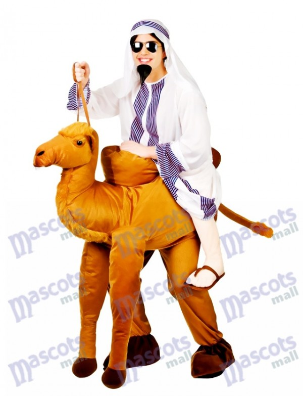 Camel Carry Me Costume Mascotte Ride A Camel Déguisements
