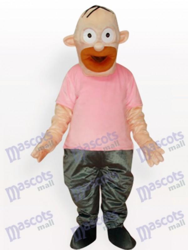 Homer Simpson Costume Mascotte Adulte Père Anime