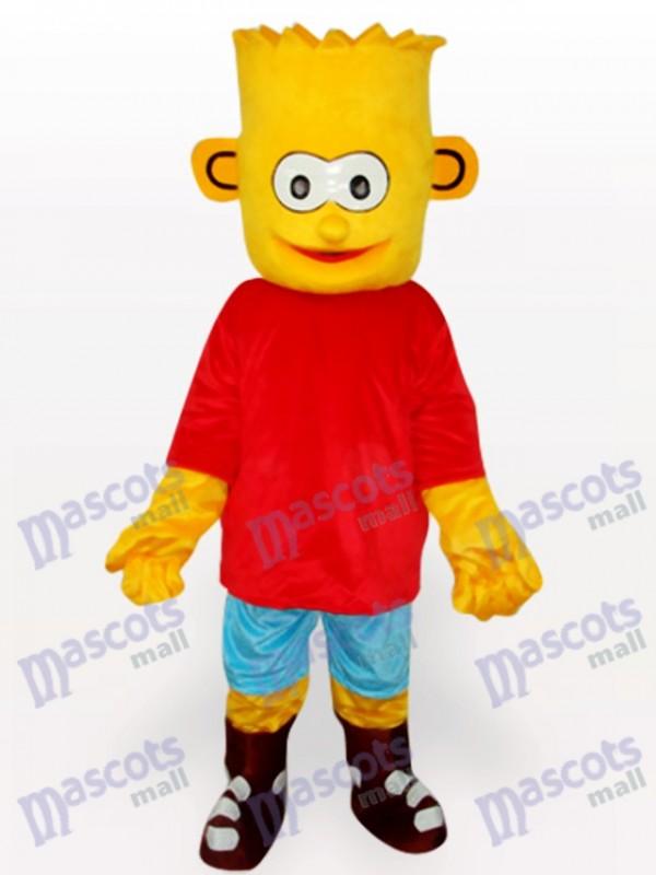 Costume Bart Simpson Son anime mascotte