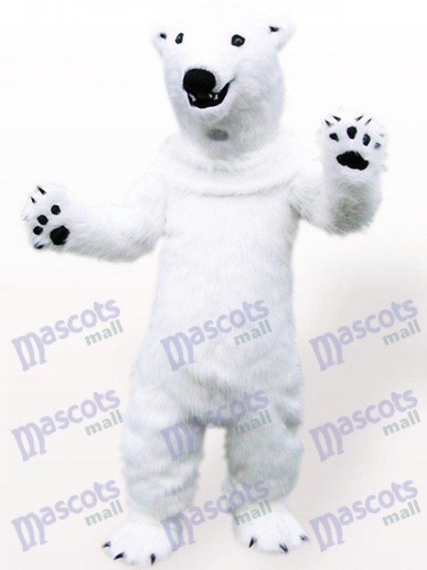 Costume de mascotte adulte animal ours polaire