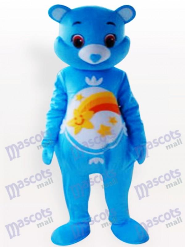 Ours bleu Costume de mascotte animale