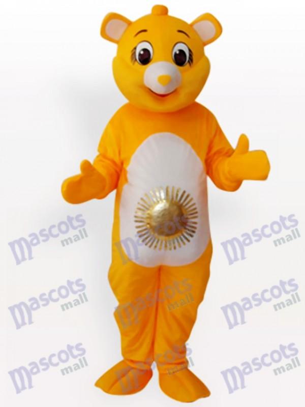 Déguisement de mascotte d'ours soleil