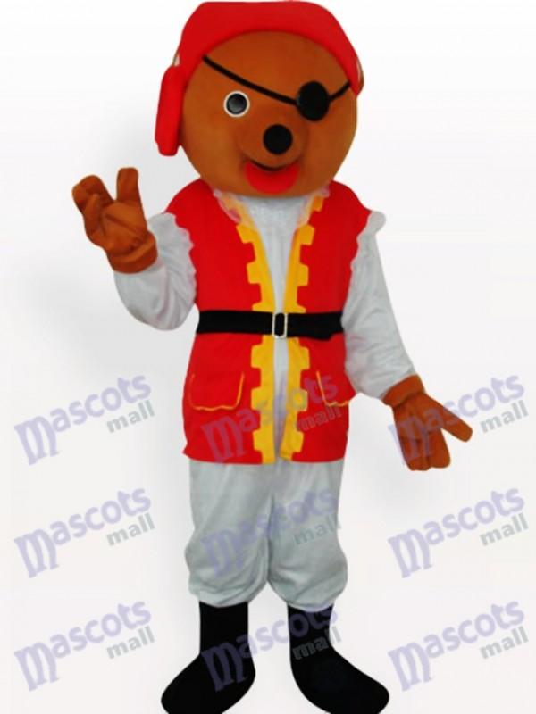 Costume de mascotte animal ours privé