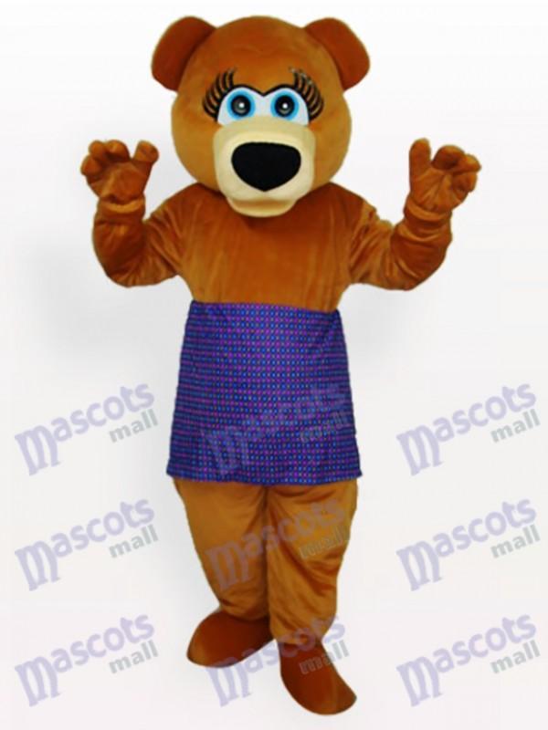 Déguisement de mascotte d'ours