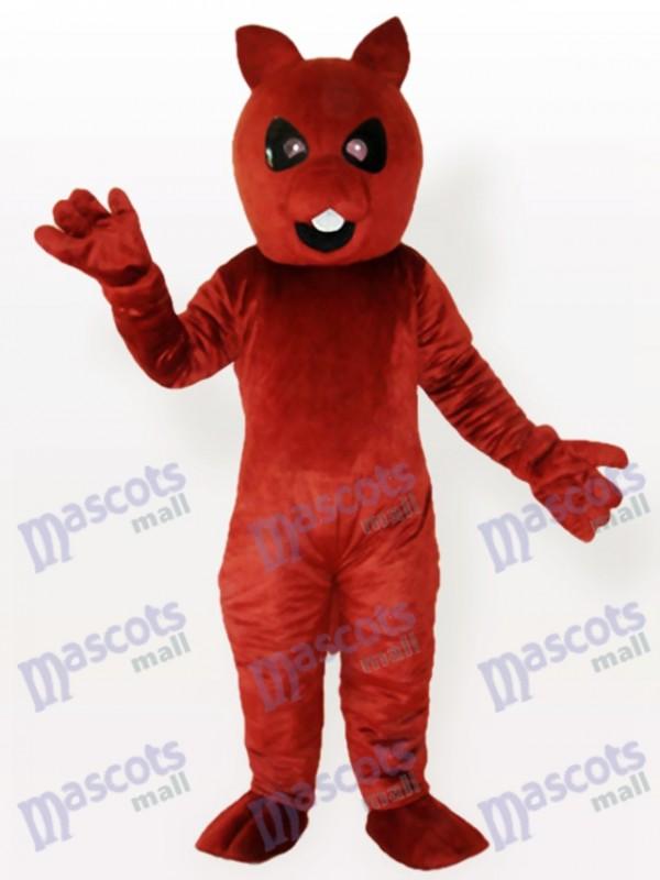 Costume de mascotte adulte écureuil brun ours
