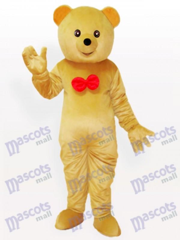 Déguisement de mascotte ours en peluche