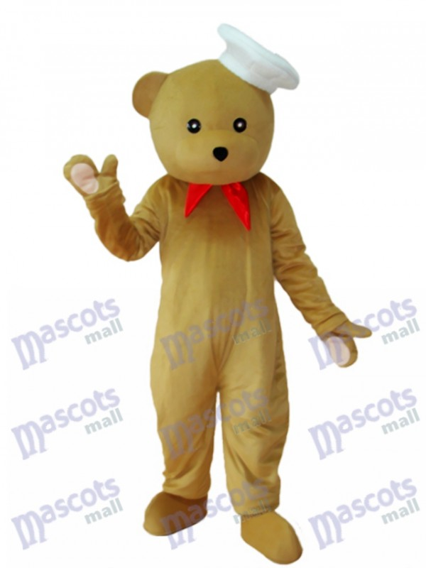 Chef Ours Mascotte Costume adulte Animal