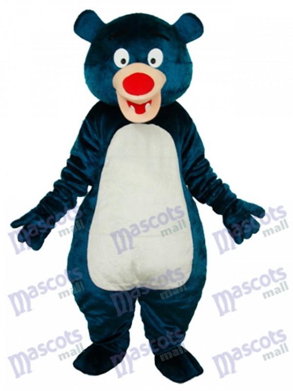 Costume de mascotte adulte ours bleu Animal