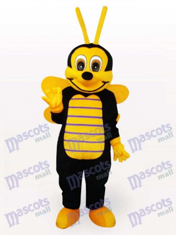 Costume de mascotte adulte petit insecte abeille