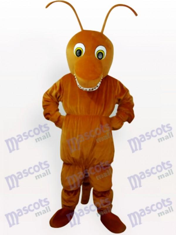 Costume de mascotte d'insecte de fourmi de Brown