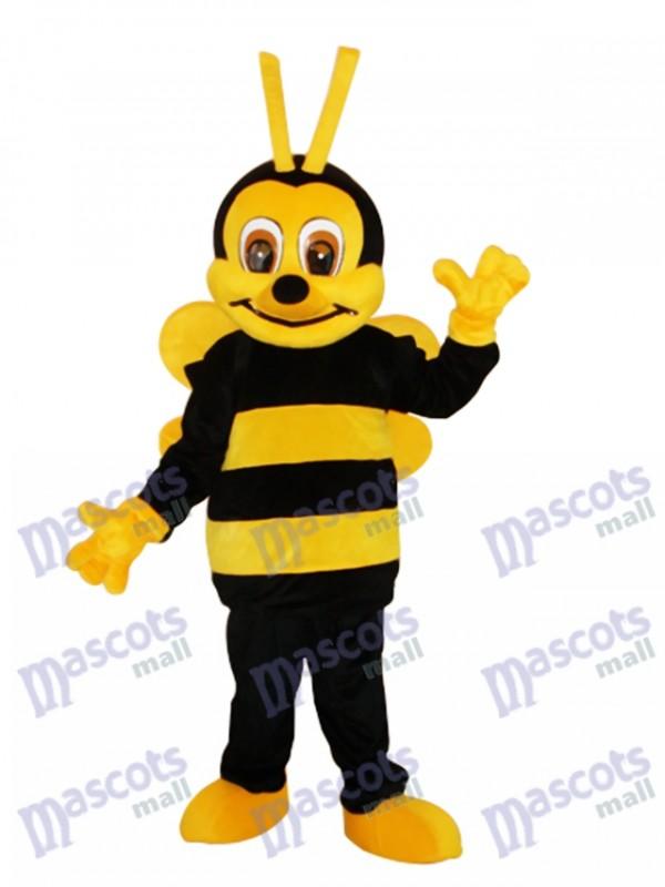 Insecte de costume de mascotte de petite abeille insecte