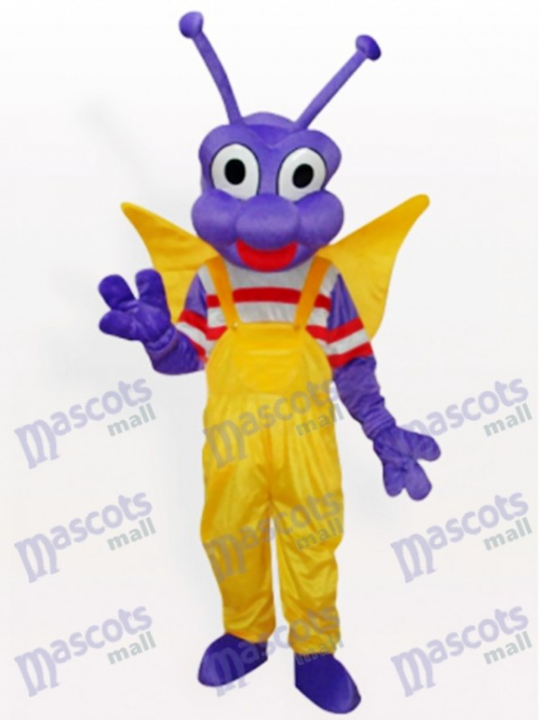 Purple BEE Bo Dudu costume de mascotte adulte