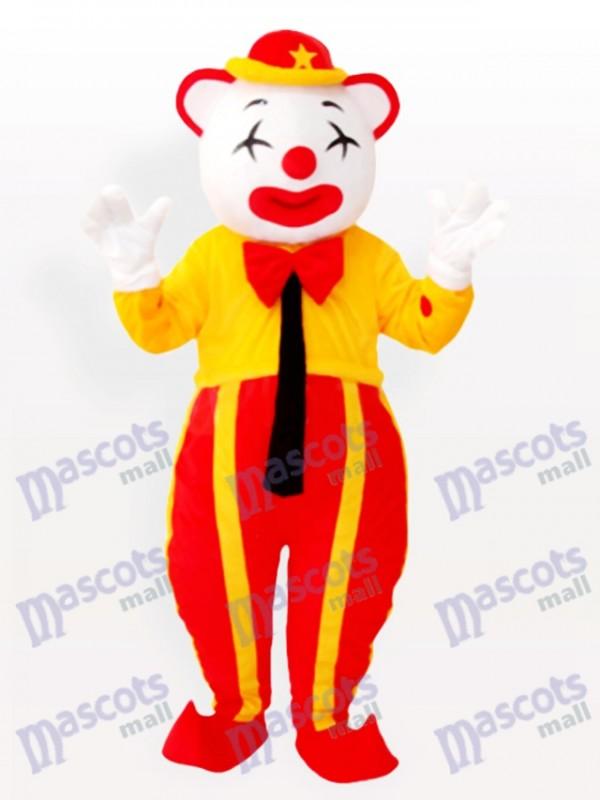 Costume de mascotte adulte clown américain