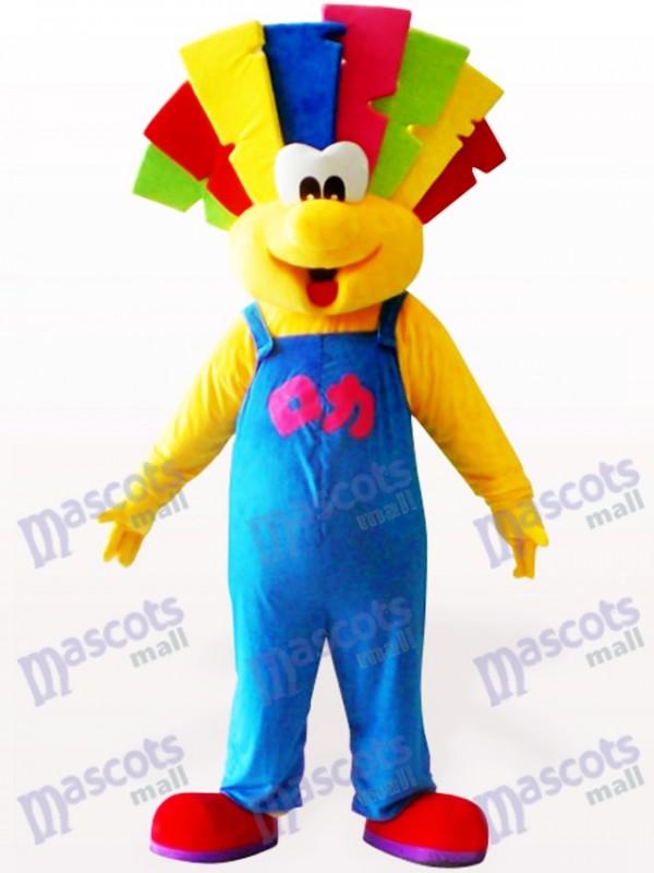 Costume de mascotte adulte parti clown mignon