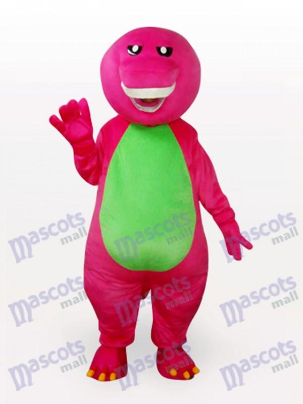 Costume drôle de mascotte de dinosaure adulte