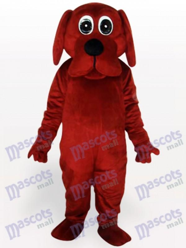 Costume drôle de mascotte d'animal de Brown Rooney Dog Animal
