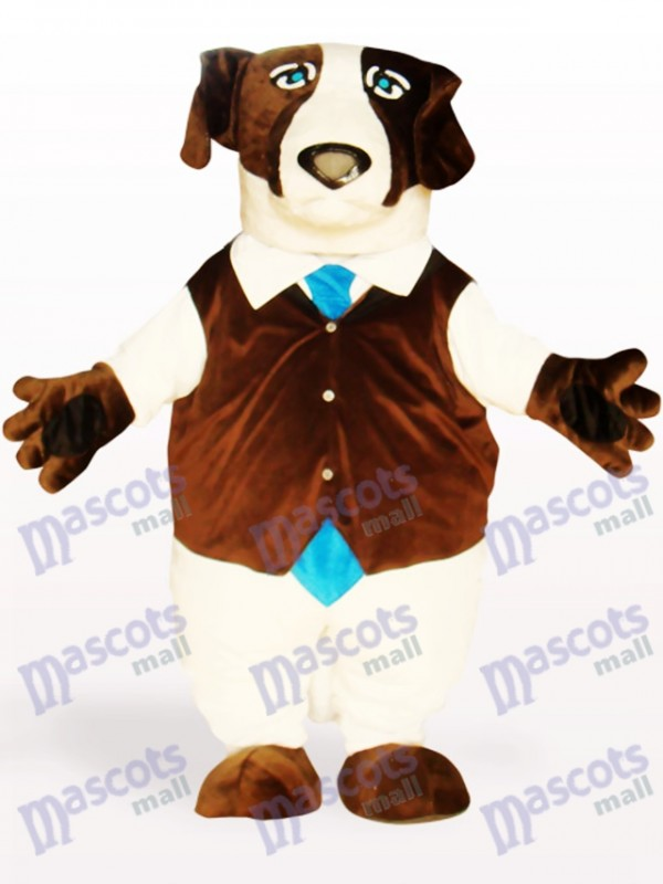 Brown Dog Animal Adult Mascot Costume