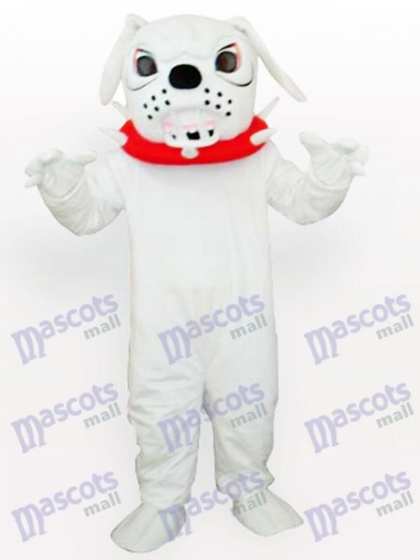 Spike Dog avec Costume de mascotte adulte collier rouge