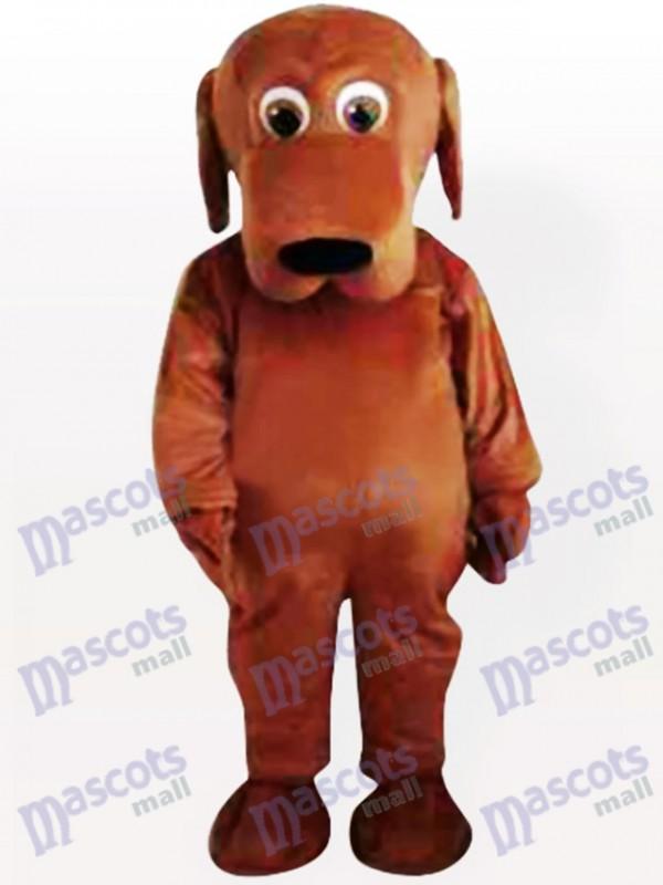 Gros Bouche Chien Costume de mascotte adulte