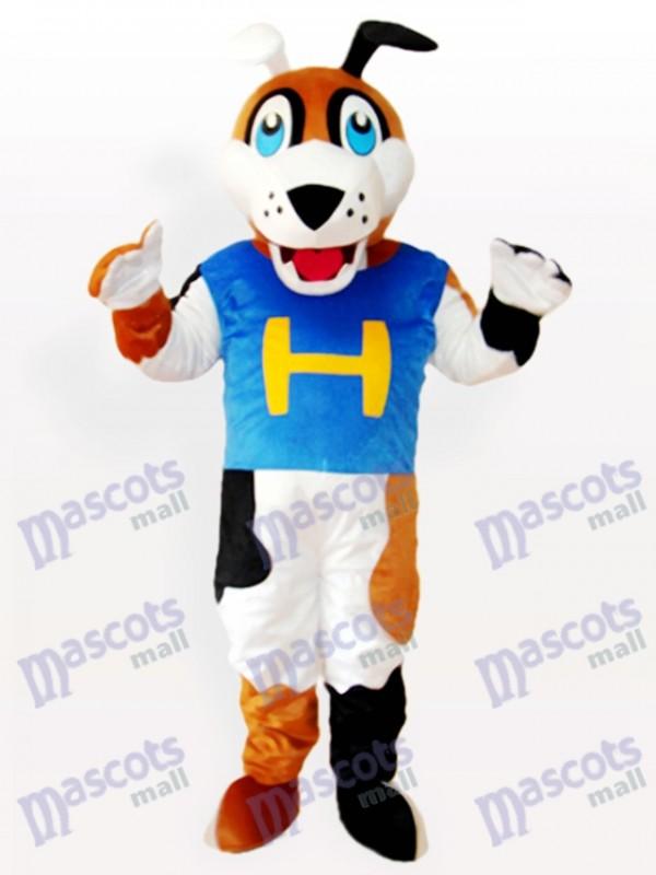 H Costume de mascotte adulte pour chien