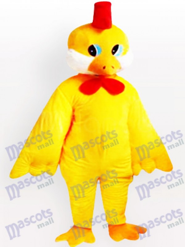 Costume de mascotte adulte petit poulet jaune