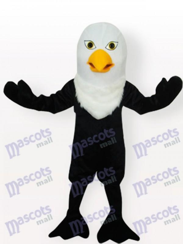 Costume de mascotte adulte aigle noir