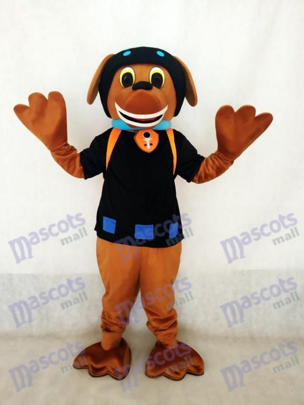 La Pat' Patrouill Paw Patrol Costume de mascotte Zuma pour chiens et chiens Chocolat et noir Labrador Pup