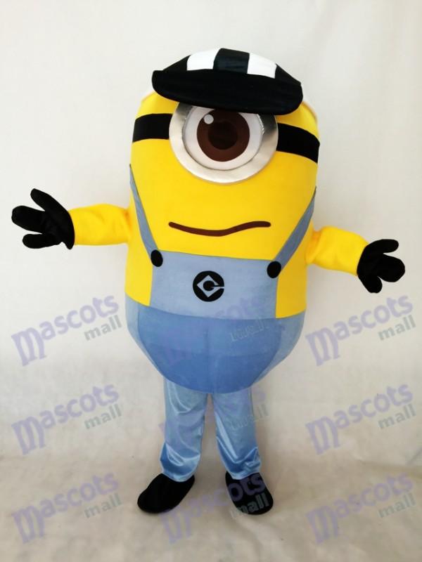 Moi, moche et méchant Un oeil Despicable Me Minions avec un costume de mascotte